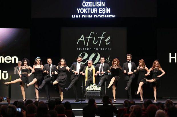 Afife Jale Tiyatro Ödülleri sahiplerini buldu