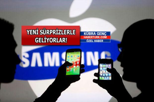 Samsung ve Apple'ın satışa çıkaracağı ürünler