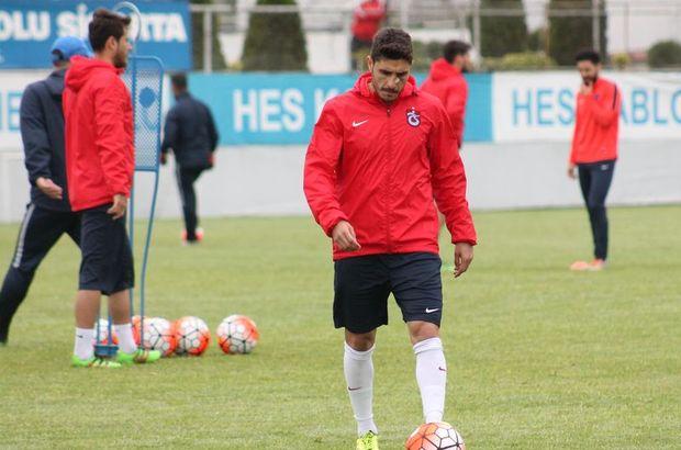 Trabzonspor'da Özer Hurmacı zorla idmana çıktı