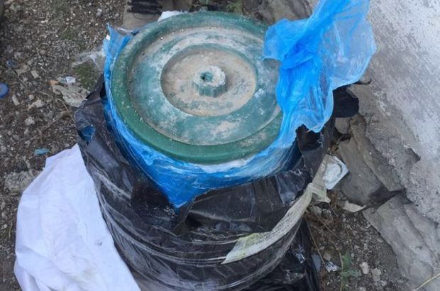 Van'da vatandaşın ihbarı TNT'li tuzağı boşa çıkardı