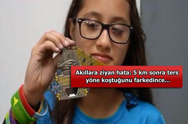 ABD'de 12 yaşındaki kız çocuğu, yanlışlıkla maraton koştu