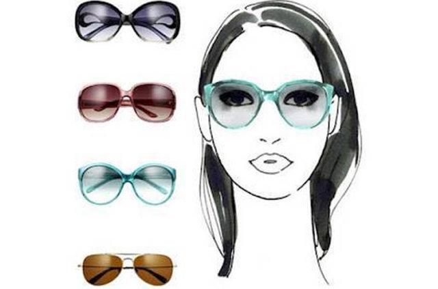 Yüzün şekline göre güneş gözlüğü seçimi. Bu moda kadınlar için ipuçları