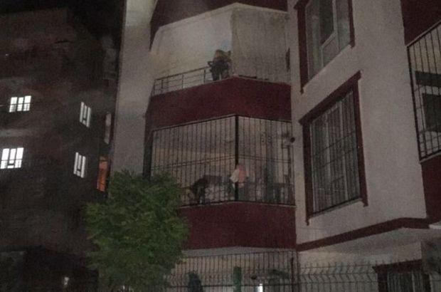 Batman'da halı silkeleyen kadın 4. kattan düştü
