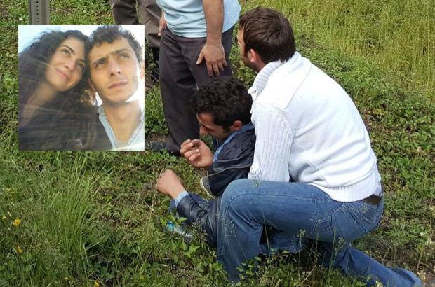 Samsun'da genç anne kazada can verdi