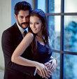 """Bir reklam kampanyasının basın toplantısında konuşan ünlü oyuncu Fahriye Evcen, """"Düğün tarihi belli değil"""" dedi"""