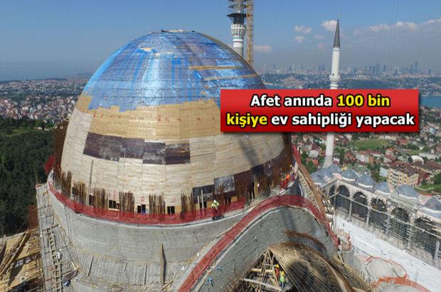 İşte Çamlıca Camii'nin son hali...