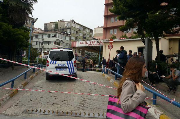 Samatya Eğitim ve Araştırma Hastanesi önünde şüpheli paket alarmı