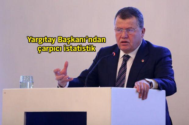 Yargıtay Başkanı İsmail Rüştü Cirit: Yargıya güven yüzde 70'ti, şimdi yüzde 30'lara düştü