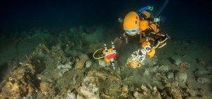 Dalgıç robot, Fransa kıyılarında 17. yüzyıla ait kalıntıları çıkardı