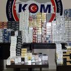 İzmir'de kaçak sigara operasyonunda 4 gözaltı