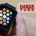 Apple Watch Habertürk uygulaması yayında