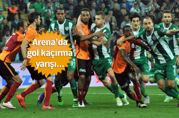 Bursaspor 1-1 Galatasaray | MAÇ SONUCU