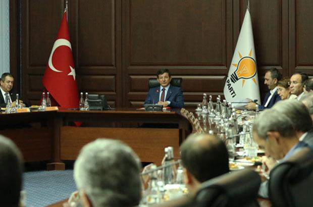AK Parti MKYK Başbakan Ahmet Davutoğlu