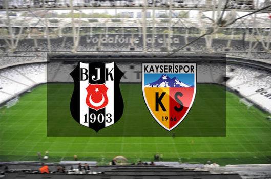 Beşiktaş Kayserispor saat kaçta? BJK Kayseri maçı ne zaman?
