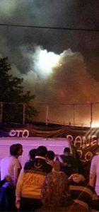 İstanbul Kocamustafapaşa'da yangın!