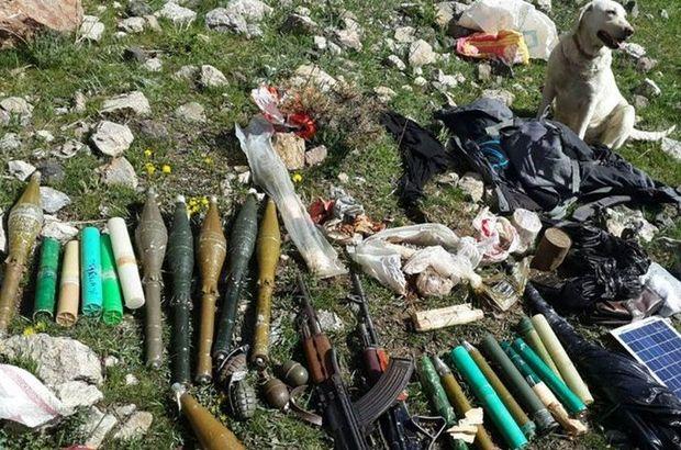 PKK'nın Van'daki cephaneliği ele geçirildi