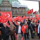 Avrupalı Türk Demokratlar Birliği teröre karşı yürüdü