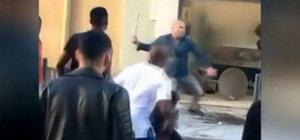 50 kişilik çeteyi dağıtan Türk dönerci Portekiz'i salladı