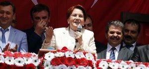 Meral Akşener: İki hakimi şikayet edeceğiz