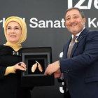 Emine Erdoğan, Türk el sanatları sergisinin açılışına katıldı