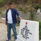 GATA'dan taburcu oldu, şehit arkadaşının mezarına koştu
