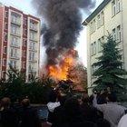 Kütahya'da 3 katlı binada patlama!