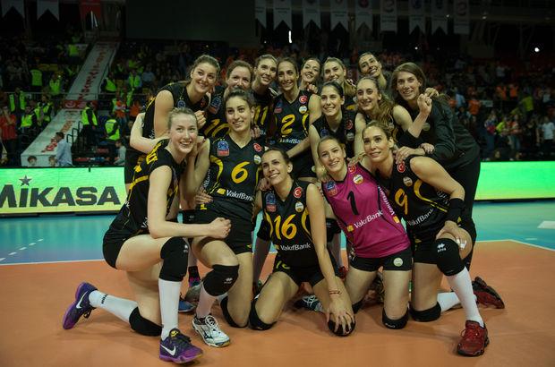 Kadınlar Voleybol 1. Ligi'nde şampiyon Vakıfbank