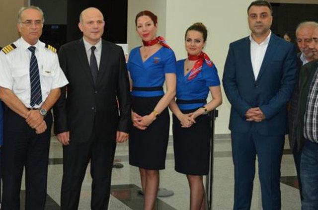 Diyarbakır'dan KKTC'ye uçak seferleri başladı