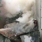 İstanbul Şişli'de korkutan yangın