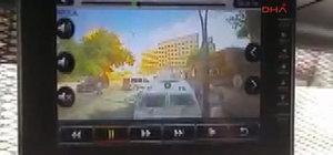 Gaziantep'te Emniyet'e saldırı anı kamerada