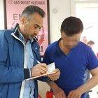 Samsun'da kadın kocasını bıçakladı