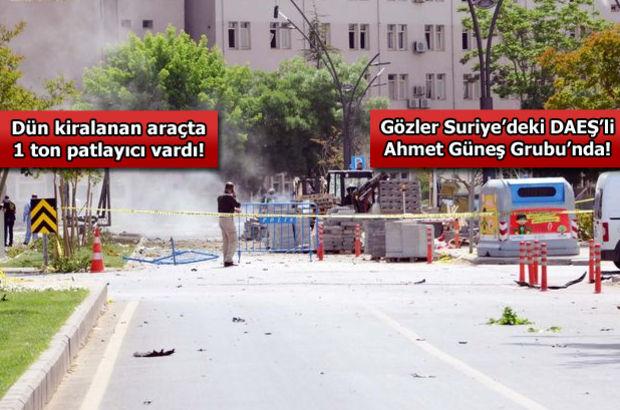 Gaziantep'te bombalı saldırının ardından 1 gözaltı