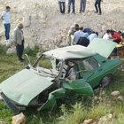 Şanlıurfa'da otomobil şarampole devrildi: 9 yaralı
