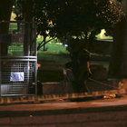 Gezi Parkı'nda şüpheli çanta