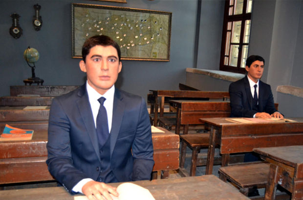 İki lider aynı sınıfta! Milli Mücadele Müzesi açıldı