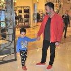Cem Yılmaz, oğlu Kemal ile görüntülendi
