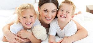 Mutlu çocuk yetiştirmek mutlu anneden geçiyor!