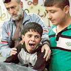 Halepli 13 yaşındaki Macid'in acı görevi