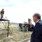 Cumhurbaşkanı Erdoğan Özel Kuvvetler'i ziyaret etti