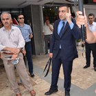 Adana'da ülkücüler, ülkücülerin basın açıklaması yaptığı binayı bastı