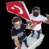 Türkiye'nin en yüksek binasına tırmanıp, Türk bayrağı dalgalandırdılar!
