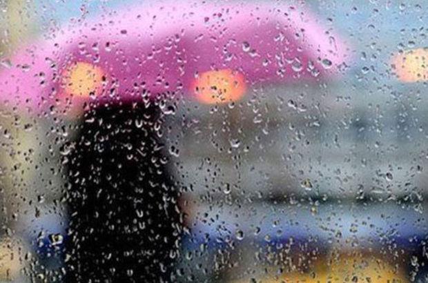 Sağanak yağış başladı