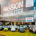 Toyota Avrupa'da 10 milyonuncu aracını üretti