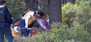 Sarıyer'de kendini ağaca asarak intihar etti!