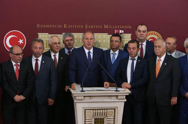 CHP'den TBMM Başkanı hakkında suç duyurusu