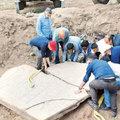 Çukur kazarken 2700 yıllık tarihi rölyefe takıldı