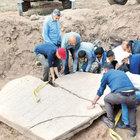 Elazığ'da 2700 yıllık tarihi rölyef bulundu