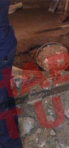 Öldürülen Alman vatandaşı Rita bu varille gömüldü