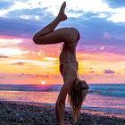 Instagram'da yoga zamanı!