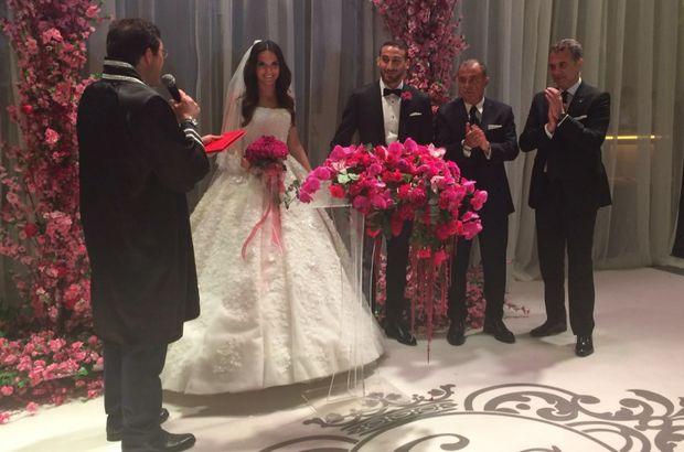 Cenk Tosun  ve Ece Akgürbüz evlendi